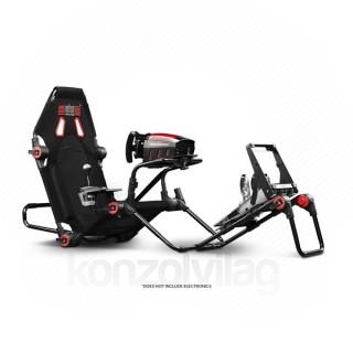 Next Level Racing Szimulátor cockpit - F-GT LITE (Formula és GT ülés; tartó konzolok: kormány, váltó, pedál)