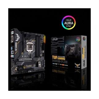 Asus Alaplap - Intel TUF GAMING B460M-PLUS s1200 (B460, 4xDDR4 2933MHz, 6xSATA3, RAID, 2x M.2, 6xUSB2.0, 6xUSB3.2)