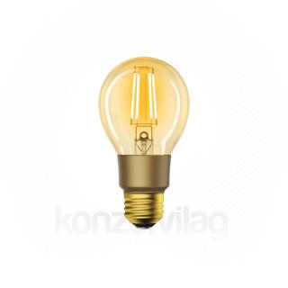 Woox Smart Home Okos Izzó - R9078 (E27, 6W, 650 Lumen, 2700K, Wi-Fi, távoli elérés)