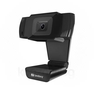 Sandberg Webkamera - 333-95 (640x480 képpont, 30 FPS, USB 2.0, univerzális csipesz, mikrofon)