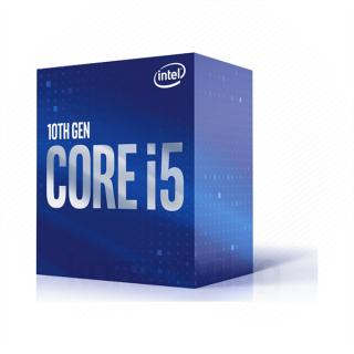 Intel Processzor - Core i5-10400F (2900Mhz 12MBL3 Cache 14nm 65W skt1200 Comet Lake) BOX No VGA