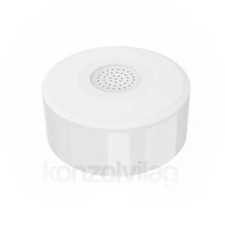 Woox Smart Zigbee Beltéri Sziréna - R7051 (85dB, Zigbee 3.0, 500mAh újratölthető akkumulátor, beltéri)