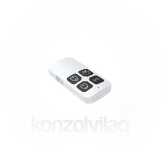 Woox Smart Zigbee Távirányító - R7054 (1xCR2032, Zigbee 3.0, riasztás gyors hatástalanítása, vészkapcsoló)