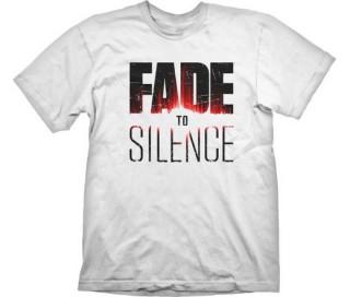 T-Shirt Fade to Silence Logo - XL Ajándéktárgyak