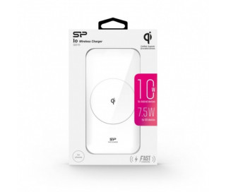 Silicon Power QI210 Wireless Charger (5W/10W, White) Tablet