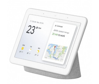 Mediaplayer Google Home Nest Hub (Chalk) Több platform