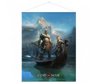 God of War Wallscroll
