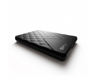 HDD EXT Silicon Power D06 1TB USB3.0 Fekete PC