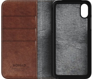 Nomad - Traditional Leather Folio (iPhone X) Mobil