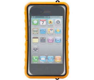 KRUSELL Mobile Case SEALABOX vízhatlan telefontok Yellow large (iPhone, Galaxy, stb.)