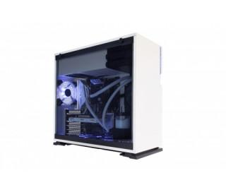 HÁZ IN WIN 101 White + Glass Sidepanel (táp nélkül)