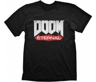 Doom T-Shirt Eternal Logo XXL AJÁNDÉKTÁRGY