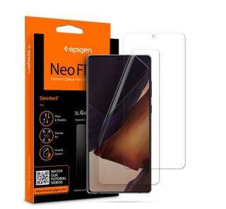 Spigen Neo Flex HD Samsung Galaxy Note 20 hajlított kijelzővédő fólia, (2db előlapi)