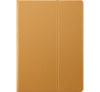 Huawei Mediapad T3 10.0 oldalra nyíló flip tok barna Tablet