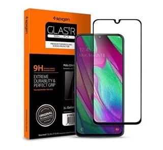 Spigen Glass FC Samsung Galaxy A40 Tempered kijelzővédő fólia Mobil