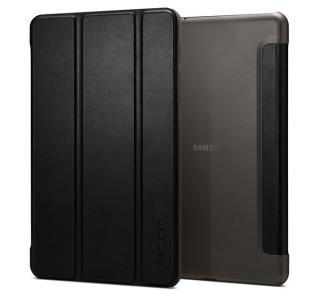 Spigen SGP Smart Fold Samsung Galaxy Tab A 8.0 (2019) fekete oldalra nyíló tok Tablet