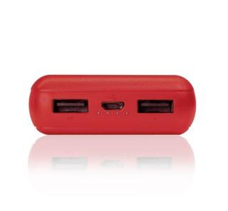 4smarts VoltHub Go külső akkumulátor (Power Bank), 2.1A, 10000mAh, piros Mobil