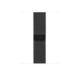 Apple Watch 38/40mm Rozsdamentes acél milánói szíj, asztrofekete Több platform
