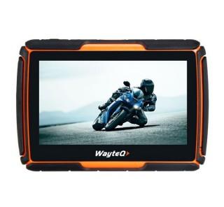 WayteQ xRIDER Smart motoros navigáció + Sygic 3D Europe, Android rendszerrel