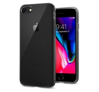 Spigen Liquid Crystal Apple iPhone SE(2020)/8/7 Space Clear tok, fekete-átlátszó