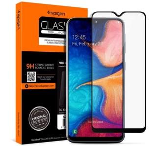 Spigen Glass FC Samsung Galaxy A20e/A10e Tempered kijelzővédő fólia