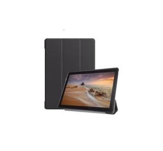 Tactical Book Tri Fold Case for Lenovo Tab M10 10.1Black