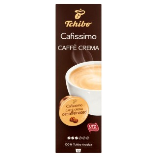 TCHIBO CAFISSIMO CAFFE CREMA DECAFF koffeinmentes kapszula