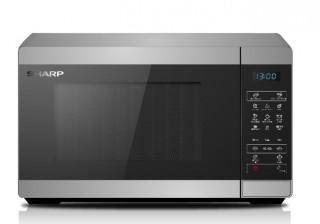 SHARP YC-MG51ES 25L, digitális, grilles mikrohullámú süto