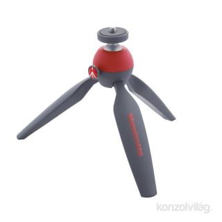 Manfrotto Pixi Mini piros háromlábú állvány Fotó, videó