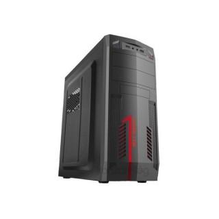 Danubius C3125 Fekete (Táp nélküli) ATX ház PC