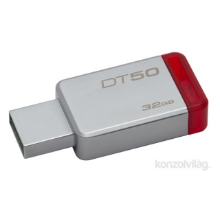 Kingston 32GB USB3.0 Ezüst-Piros (DT50/32GB) Flash Drive PC