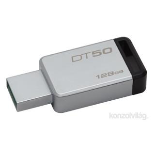 Kingston 128GB USB3.0 Ezüst-Fekete (DT50/128GB) Flash Drive PC