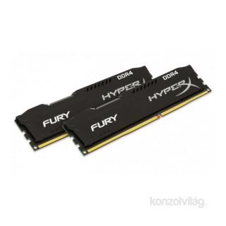 Kingston 32GB/2933MHz DDR-4 HyperX FURY fekete (Kit 2db 16GB) (HX429C17FBK2/32) memória PC