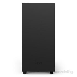 NZXT H500 Fekete (Táp nélküli) ablakos ATX ház PC