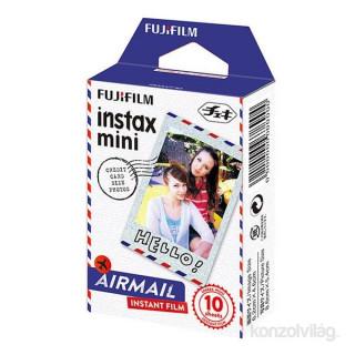 Fujifilm Instax Mini fényes AirMail 10 db képre film Fotó, videó