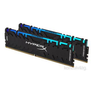 Kingston 16GB/3200MHz DDR-4 HyperX Predator RGB XMP (Kit! 2db 8GB) (HX432C16PB3AK2/16) memória PC
