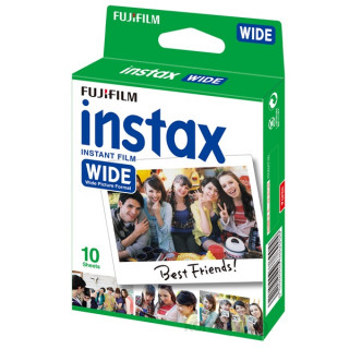 Fujifilm Instax WIDE 210, 300-hoz fényes 10 db képre film