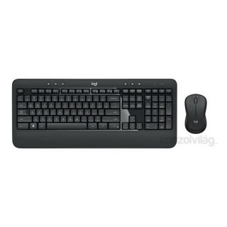 Logitech MK540 Advanced wless fekete HUN egér + billentyűzet PC