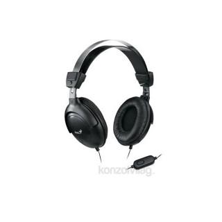 Genius HS-M505X single jack fekete headset PC