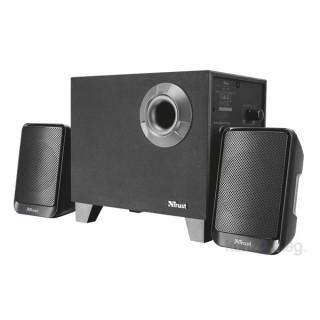Trust Urban Evon 2.1 vezeték nélküli Bluetooth fekete hangszóró
