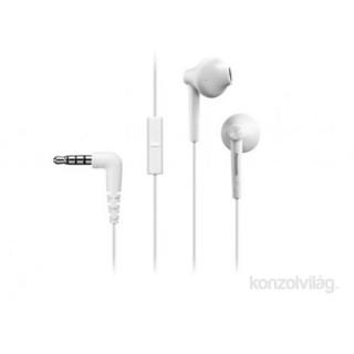 Panasonic RP-TCM55E-W fehér mikrofonos fülhallgató headset Mobil