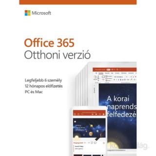 Microsoft Office 365 Otthoni verzió kódkártya szoftver PC