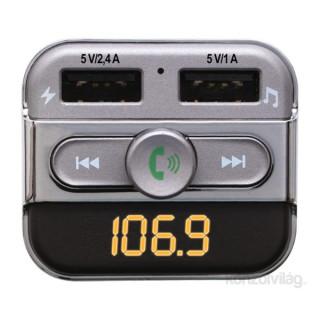 SAL FMBT PRO Bluetooth telefon kihangosító és FM transzmitter Mobil