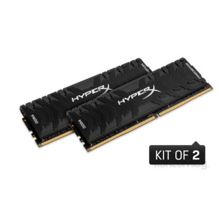 Kingston 32GB/3200MHz DDR-4 HyperX Predator XMP (Kit! 2db 16GB) (HX432C16PB3K2/32) memória