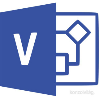Microsoft Visio Professional 2019 Elektronikus licenc szoftver PC