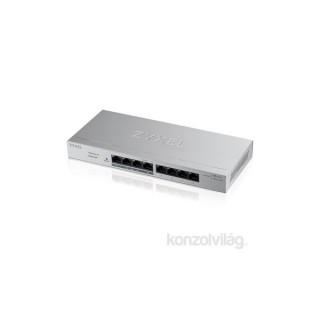 ZyXEL GS1200-8HPv2 8port GbE LAN PoE (60W) web menedzselheto asztali switch