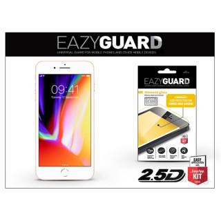 EazyGuard LA-1309 2.5D iPhone 8+ fehér kijelzővédő fólia