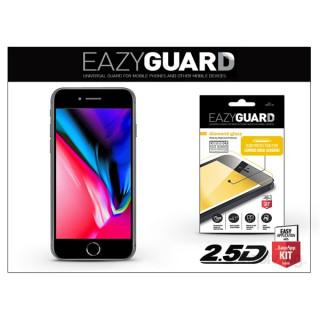 EazyGuard LA-1310 2.5D iPhone 8+ fekete kijelzővédő fólia