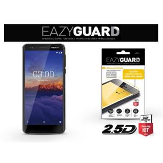EazyGuard LA-1376 2.5D Nokia 3.1 fekete kijelzővédő fólia Mobil