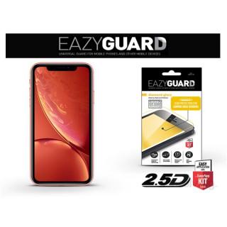 EazyGuard LA-1398 2.5D iPhone XR fekete kijelzővédő fólia
